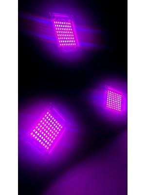 PROFI LED žiarovka pre všetky rastliny s 3 ľahko nastaviteľnými časťami, 60W, E27, High-power+, IP65, ružová