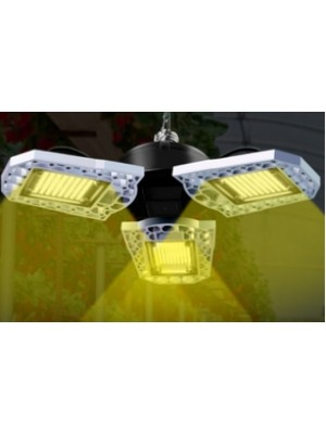 PROFI LED žiarovka pre všetky rastliny s 3 ľahko nastaviteľnými časťami, 60W, E27, High-power+, IP65, SUNLIGHT