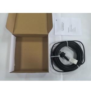 Vykurovací kábel na ochranu proti mrazom EXTRA PEVNÝ s TERMOSTATOM IP68 17W/m - 4 m