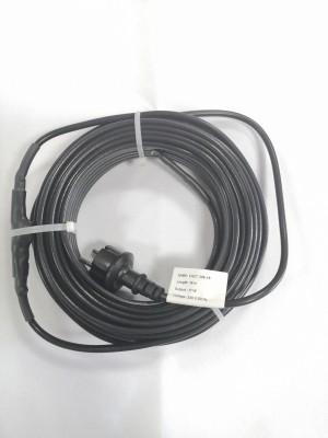 Vykurovací kábel na ochranu proti mrazom EXTRA PEVNÝ s TERMOSTATOM IP68 17W/m - 8 m