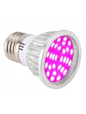 LED žiarovka na všetky rastliny 6W, E27, ružová, High-power+