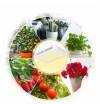 PROFI LED GROW panel pre všetky rastliny so zabudovaným samochladiacim systémom, sunlight, 80W, 230V