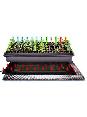 Výhrevná podložka pre rastliny a teráriá 52x52cm