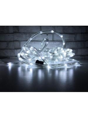 LED svetelný had, 9m, IP44, studená biela, exteriér