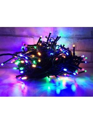PROFI vianočná LED svetelná reťaz, 200xLED, viacfarebná 30m, 220V, IP44