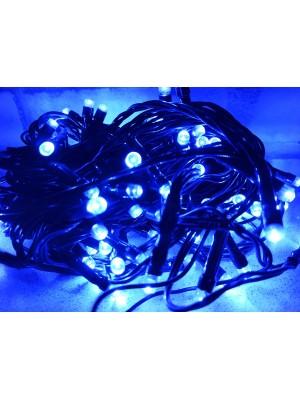 PROFI vianočná LED reťaz, 10 m, 100xLED, IP44, modrá
