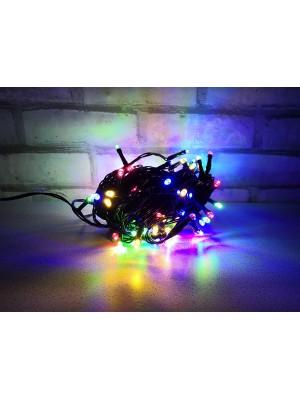 PROFI vianočná LED reťaz, 10 m, 100xLED, IP44, viacfarebná