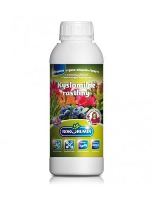 Kyslomilné rastliny - kvapalné organominerálne hnojivo s aminokyselinami a humínovými kyselinami, 1L